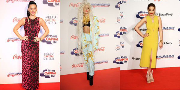 Katy Perry Lady Gaga Rita Ora