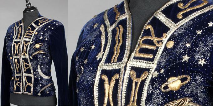 La giacca 'Zodiaco' di Elsa Schiapparelli