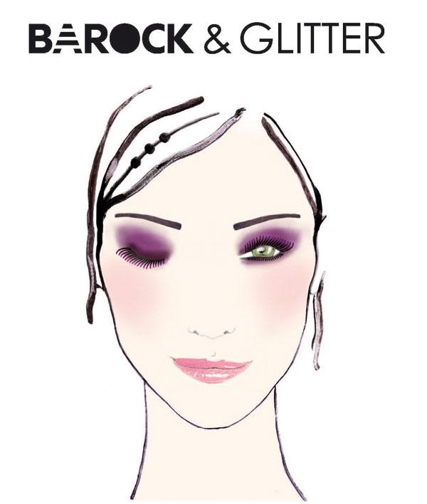 Look-Natale-Sephora-2013-Barock&Glitter