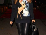 Rochelle Humes in Bambi Givenchy