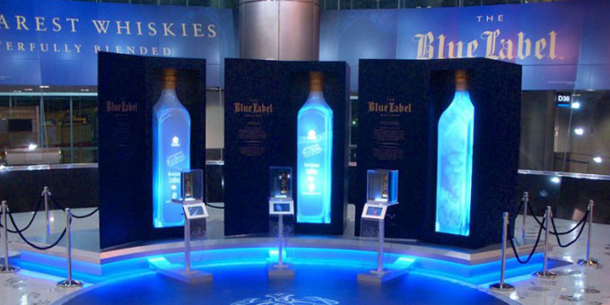Johnnie Walker Blue Label Gallery