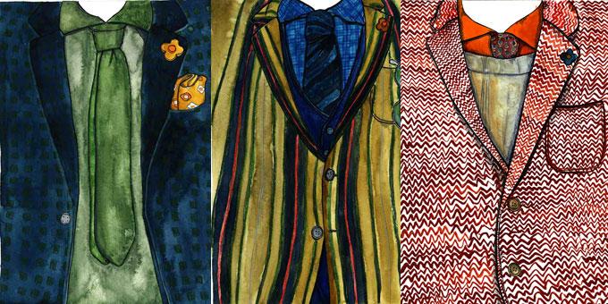 PITTI UOMO: l'artista ANDREA TARELLA INTERPRETA LARDINI