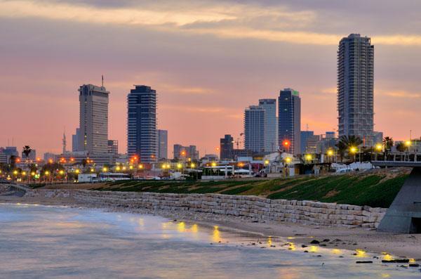 la meravigliosa Tel Aviv