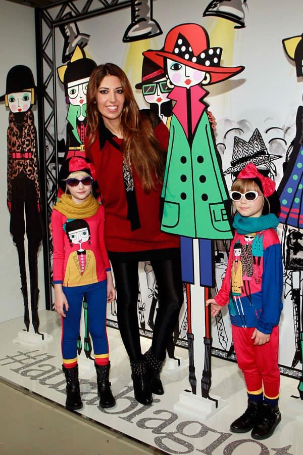 Lavinia Biagiotti e le Biagiotti Dolls