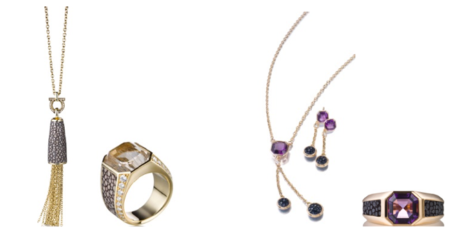 Ferragamo Jewels- Galuchat