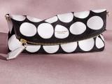 Burberry San Valentino Donna pochette bianca e nera