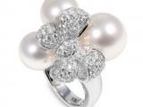 Yoko London. Collezione BRIDAL in oro bianco, perle e diamanti