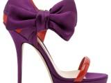 Sebastian: super romantica la proposta sebastian. colori iper femminili e satin avvolgono il sandalo incorniciato da un fiocco. in perfetto stile san valentino. Prezzo su richiesta
