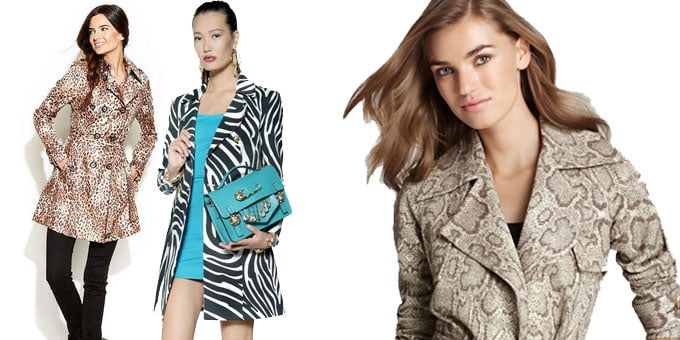 Il trench animalier