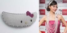 Mikimoto crea la corona di Hallo Kitty