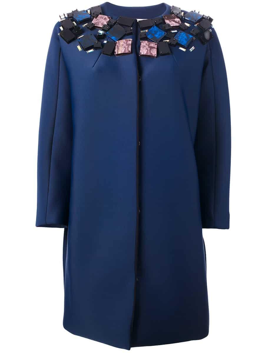 msgm- Il cappottimo ricamato
