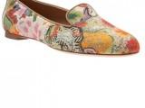 Alexander McQueen floral print - stringata