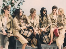 Behind the-scenes on the Burberry Spring Summer 2014