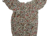 RIFLE-SS14-top a fiori con scollo a barca 49,90€