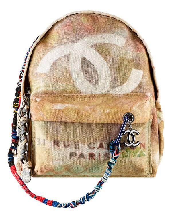 Chanel, lo zaino. Collezione Ready to wear ss2014