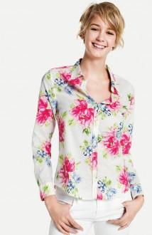 Benetton - camicia a fiori -ss 2014