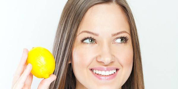 luce con il limone