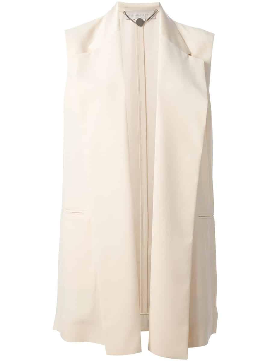 STELLA MCCARTNEY - giacca senza maniche