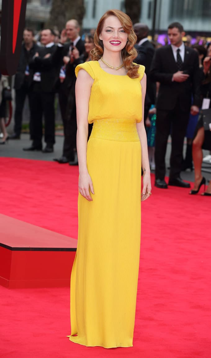 Emma Stone in Versace