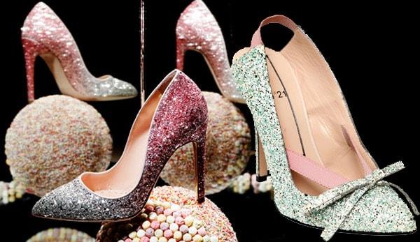 La 'glittermania' ss 2014