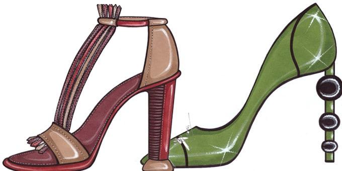 Shoes....i bozzetti per la pe 2015