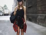 la camicia legata in vita - Chiara Ferragni
