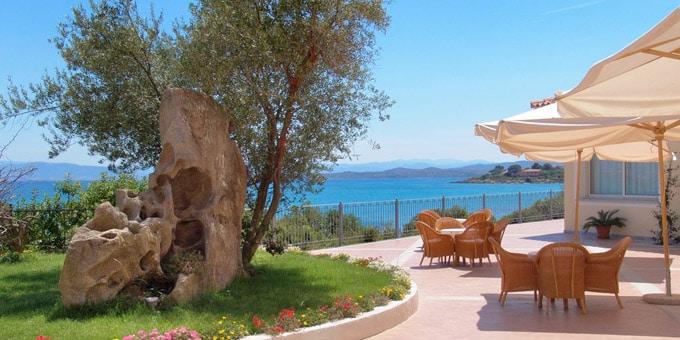 Hotel Gabbiano Azzurro a Golfo Aranci con il suo ristorante Blu'