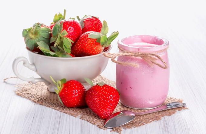 Le virtu' dello  yogurt