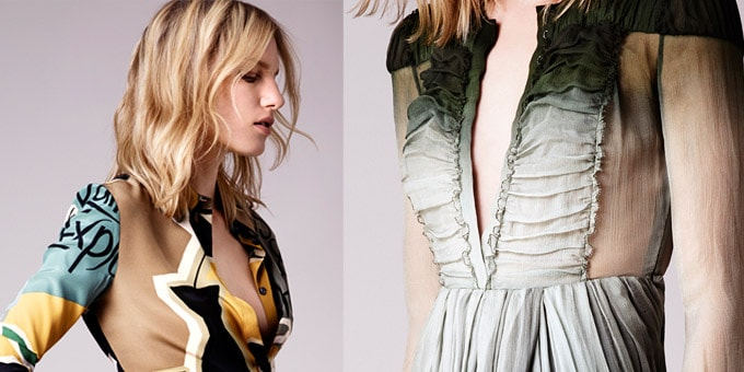 Burberry Prorsum - la Pre-Collection Primavera Estate 2015