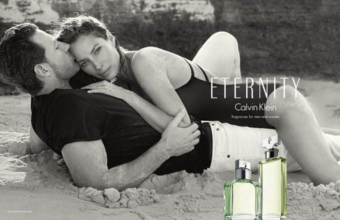Christy Turlington Burns ed Ed Burns per Calvin Klein