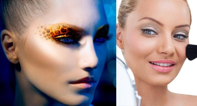 I due volti del Make Up