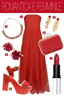02 - look rosso fuoco