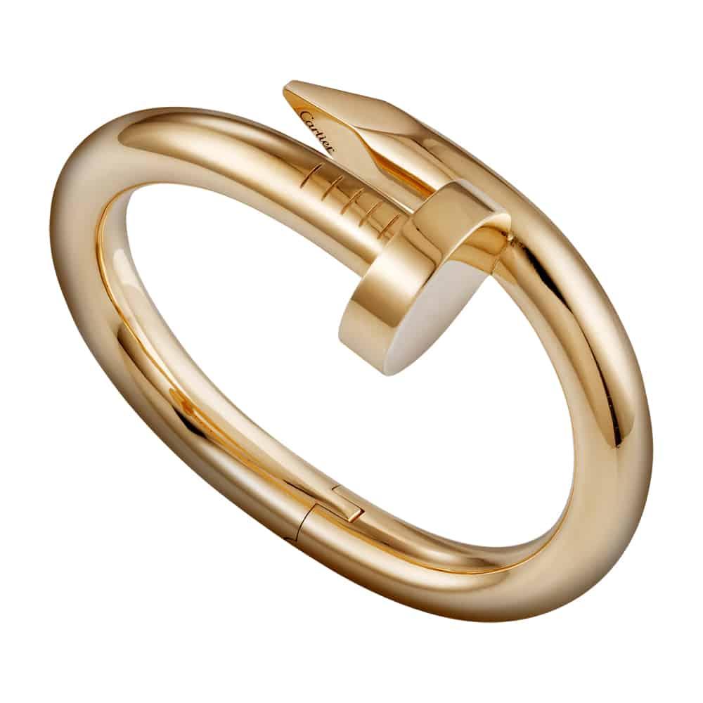 Bracciale Juste un Clou di Cartier in oro rosa 18 carati.  Modello extra large. €31.100,00
