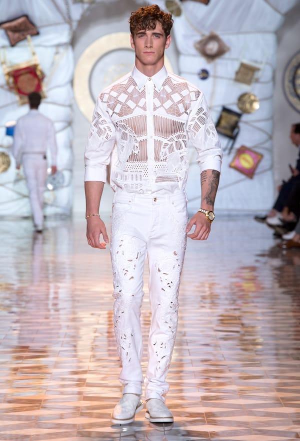 Versace Uomo - sfilata Milano - ss 2015