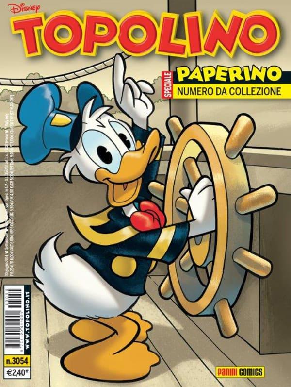 PaniniComics.Topolino3054_CompleannoPaperino.Cover