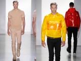 Colori, audacia e classe per l'uomo di Calvin Klein Collection