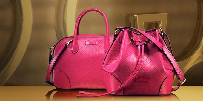 La borsa Bright Diamante di Gucci