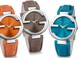 I 3 nuovi modelli degli orologi Interlocking by Gucci
