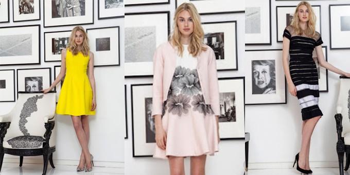 Lela Rose - resort 2015 - moda donna