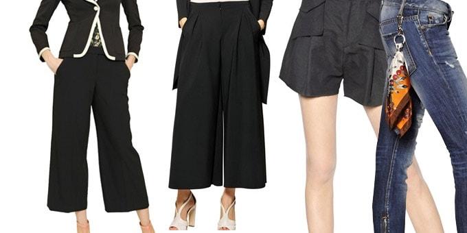 i pantaloni dell'estate