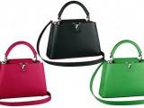 Le nuove borse Capucines di Louis Vuitton? Fucsia, cobalto, blu elettrico e giada