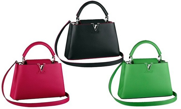 0634ece513 Le nuove borse Capucines di Louis Vuitton? Fucsia, cobalto, blu ...
