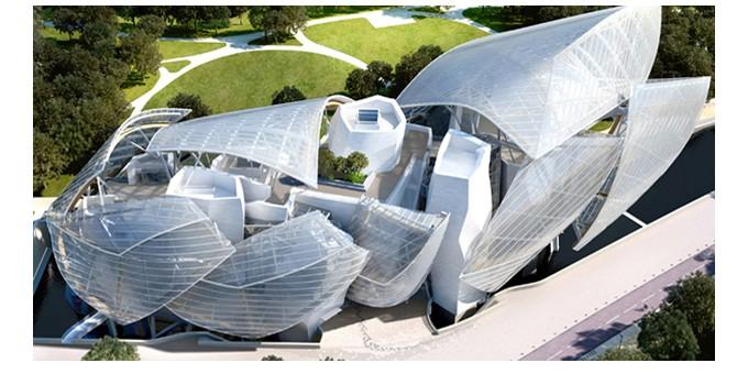 La Fondazione Louis Vuitton aprirà il 26 ottobre le porte del suo museo nell'affascinante cornice del Bois de Boulogne