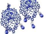 Elaborati-con-strass-blu-elettrico,-CLERIC.