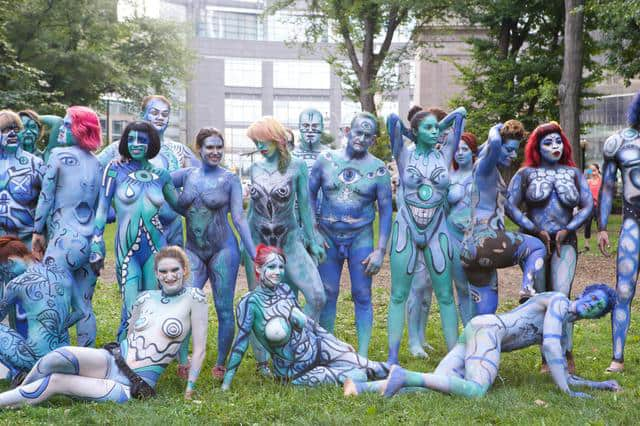 Il primo 'NYC Bodypainting Day'