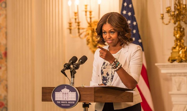 MILLY DI MICHELLE SMITH PER MICHELLE OBAMA