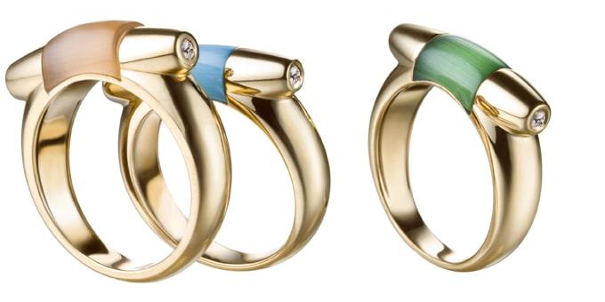 anelli Gancino by Ferragamo