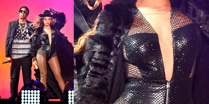 Beyonce Opens Houston Concert Wearing Updated Versace Look