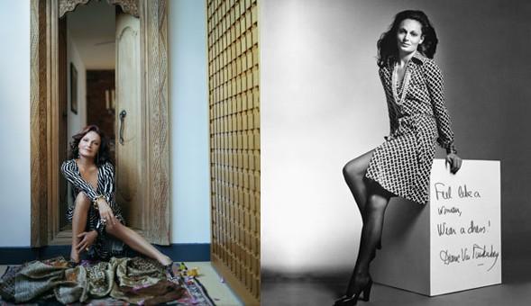 Diane Von Furstenberg ed il suo 'wrap dress'