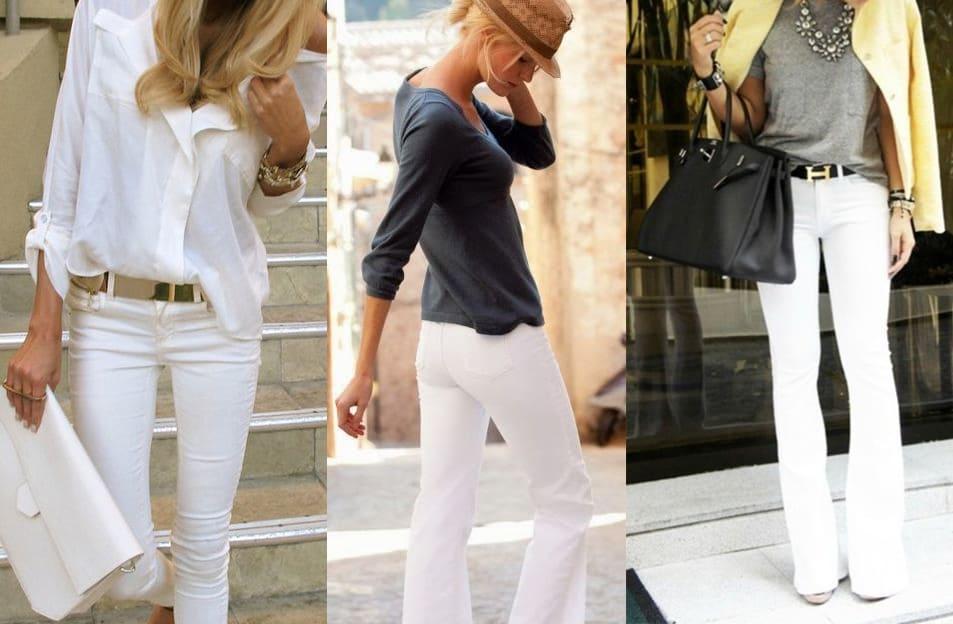 Jeans bianchi
